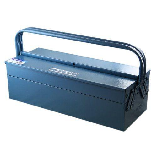 caixa de ferramentas com 3 gavetas azul marcon 350 envio 24h