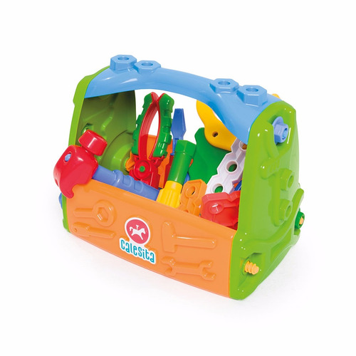 caixa de ferramentas infantil calesita