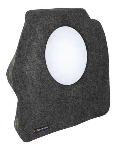 caixa de fibra lateral celta 2 portas para falante de 10 12