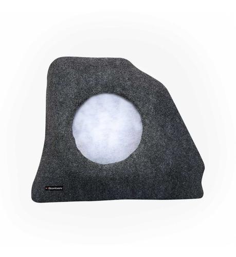 caixa de fibra lateral corsa hatch 94 - 01 p/ falante 10 12