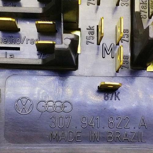 caixa de fusível vw santana / santana quantum todos original