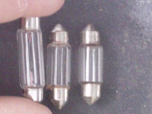 caixa de lampadas torpedos c5w 12v 5w