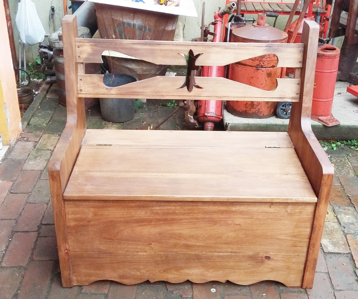 9877d42b062 caixa de lenha banco king em madeira. Carregando zoom.