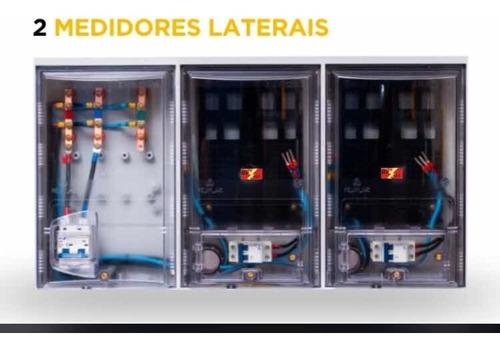 caixa de luz 2 medidores eletropaulo cabo 16 mm