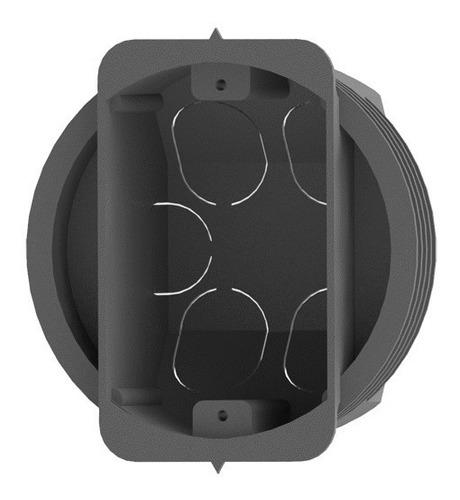 caixa de luz circular 4x2 - kit com 100 unidades