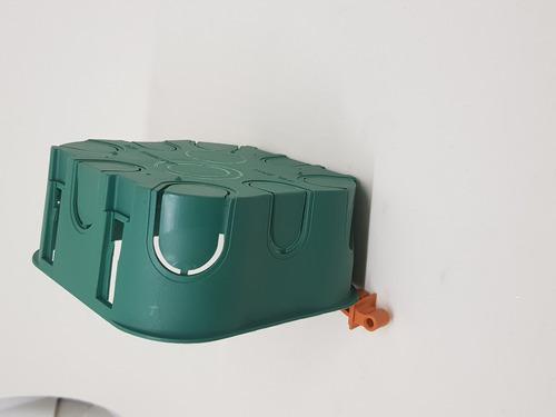 caixa de luz drywall 4x4 pvc (100 unidades)