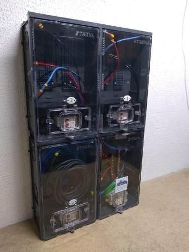 caixa de luz eletropaulo p/ 3 medidores cabo 25mm