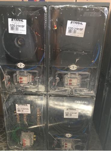 caixa de luz para 3 medidores  eletropaulo completa