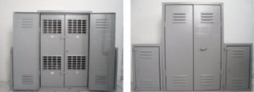 6a1ce15269f Caixa De Luz Para 3 Relógios Tipo L Padrão Elektro Montada - R ...