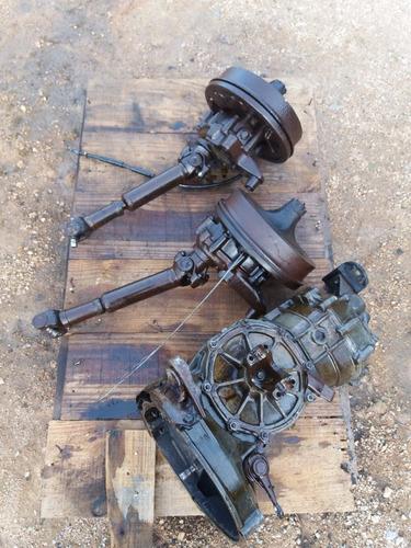 caixa de marchas kombi com redução e cruzetas