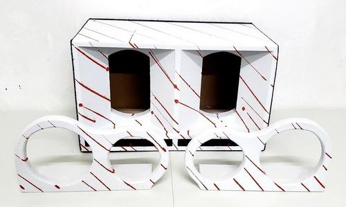 caixa de medio para falante de 10