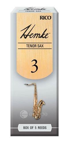 caixa de palhetas rico frederick hemke 4.0 - sax tenor