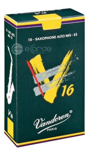 caixa de palhetas vandoren v16 - 3.5 - sax alto