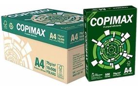 Caixa De Papel Sulfite A4 Copimax 75g Com 1 Resma 500 Folhas