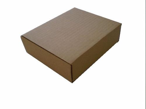 caixa de papelão para sedex e encomendas via correios parda