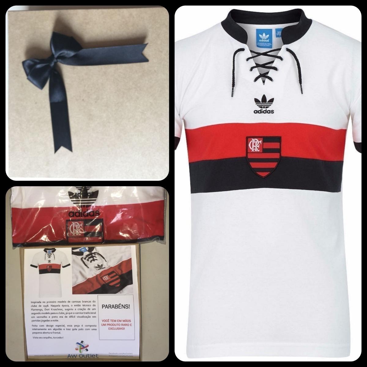 7bc5edd6796 Caixa De Presente Camisa Cr Flamengo 1938 - adidas Originals - R ...