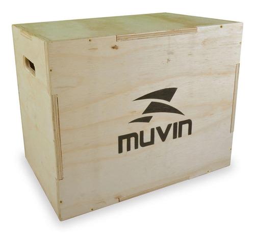 caixa de salto  50cm x 60cm x 75cm  cxs-200 marrom - muvin
