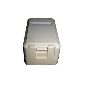 caixa de sobrepor 1 saída com anteparo de poeira kit c/50