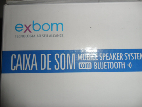 caixa de som 2.0 bluetooth 10watts aux /sd/usb/fm cs-m261bt