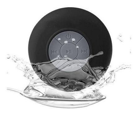 caixa de som a prova d agua banho - preto - 3w rms - bts06