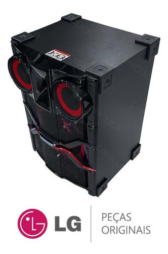 caixa de som acústica ns9740 8ohm mini system lg cm9740