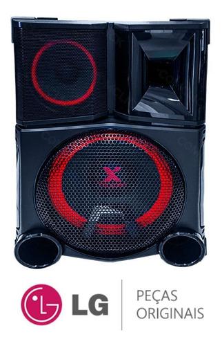 caixa de som acústica ns9750f 4/8ohm mini system lg cm9750