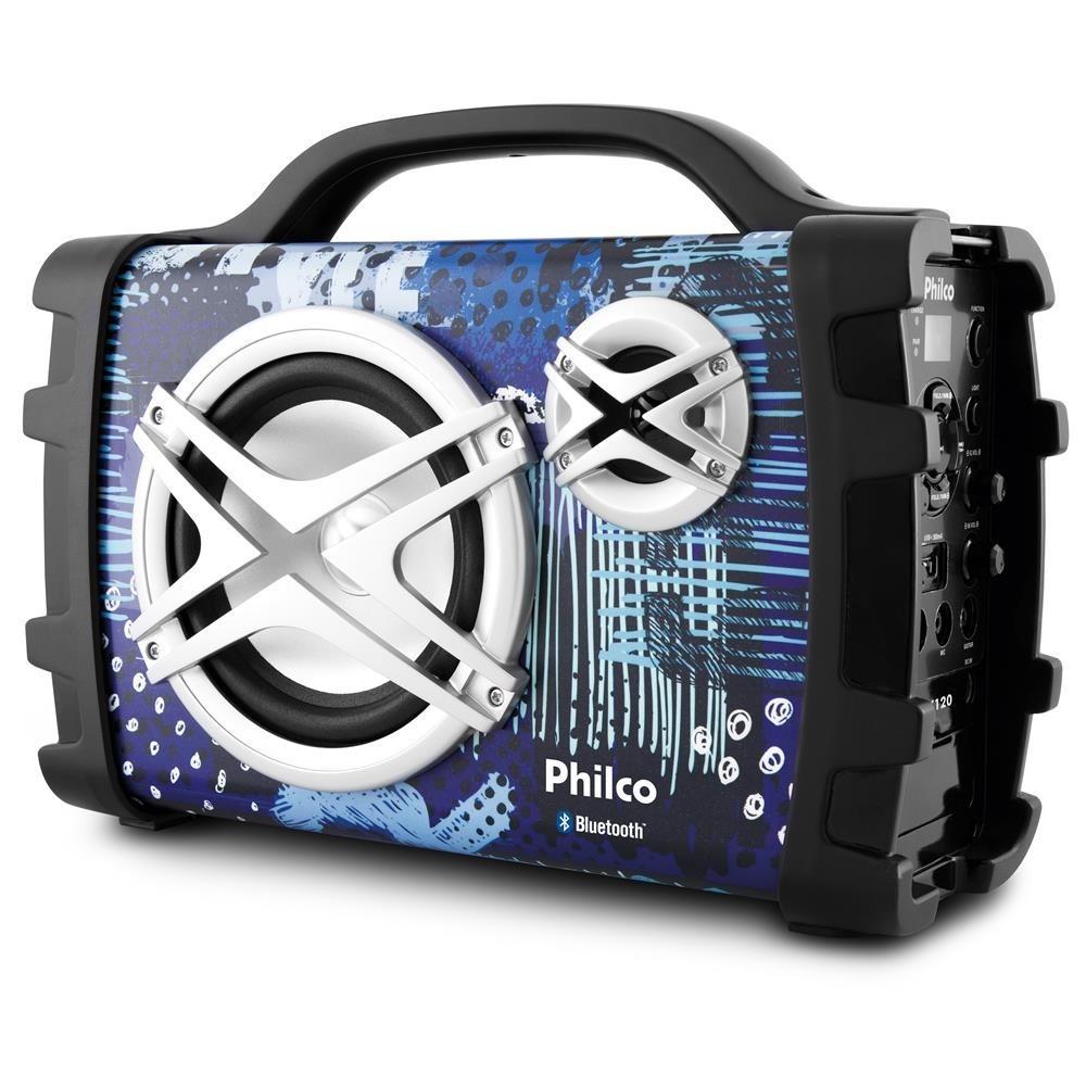 5555d093f caixa de som acústica philco pcx120 100w bluetooth bivolt. Carregando zoom.