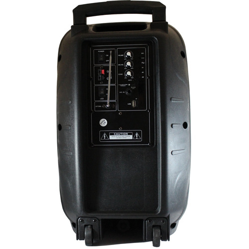 caixa de som amplificada 250 watts bluetooth c/ microfone