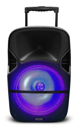 caixa de som amplificada bateria + microfone 400w bluetooth