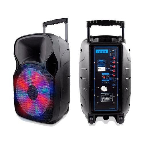 caixa de som amplificada bluetooth 150w rms multilaser sp219