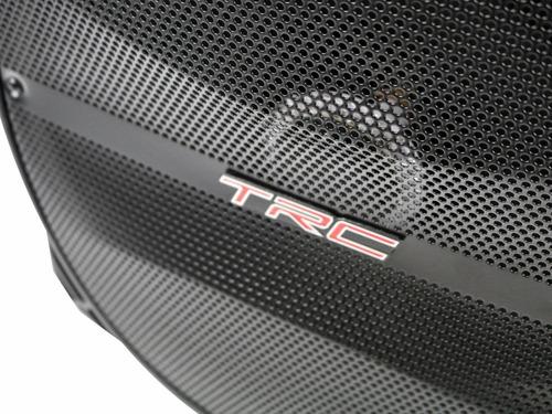 caixa de som amplificada bluetooth 290w rms fm usb p10 mic