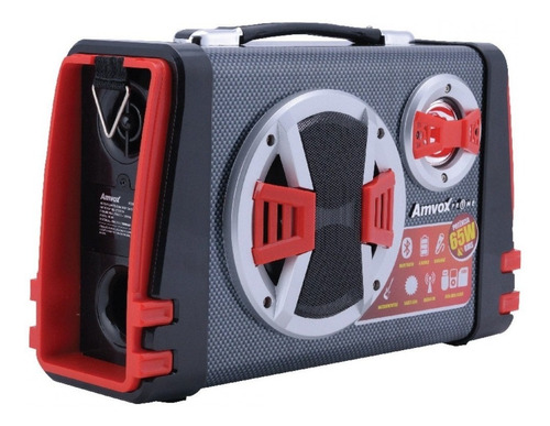 caixa de som amplificada bluetooth amvox aca 110