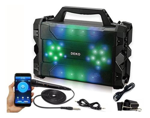 caixa de som amplificada led bluetooth mp3 sd super bateria