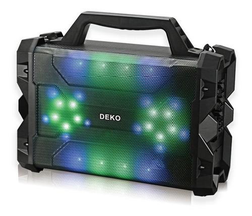 caixa de som amplificada led bluetooth usb mp3 sd microfone