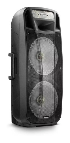caixa de som amplificada multiuso cf2000 app frahm - bt/usb