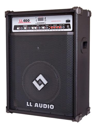 caixa de som amplificada multiuso nca 400 usb 100 watts rms