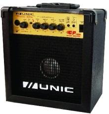caixa de som amplificada para guitarra unic modgp1500 oferta