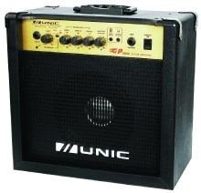caixa de som amplificada para guitarra unic mod:gp2500: nova