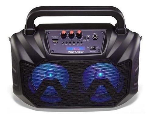 caixa de som amplificada portátil multilser sp289 80w