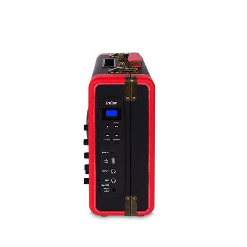 caixa de som amplificada raveo pulse bluetooth 30w s/ juros