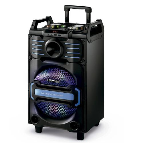 caixa de som amplificadora 240w cm-09 mondial bivolt