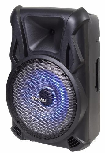caixa de som ativa  15 c/ bateria bootes btu-650 ( omf )