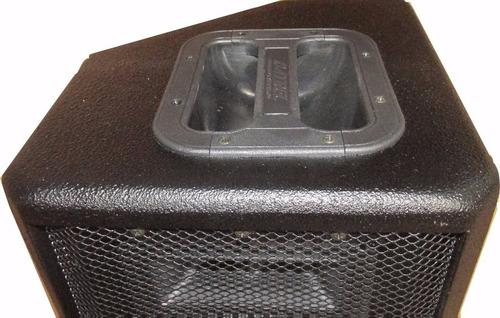 caixa de som ativa af 8  bluetooth/usb/sd/fm 100 rms potente