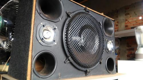 caixa de som auto falante de 15 polegadas