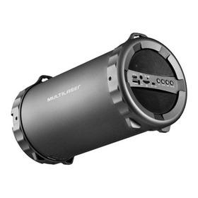 Caixa De Som Bazooka Multilaser Bluetooth/fm/sd/usb/p2 20w