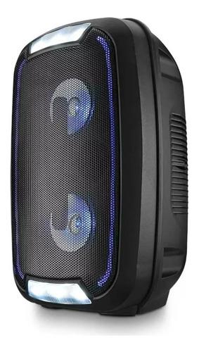 caixa de som bluetooth 200w rms mini torre party multilaser