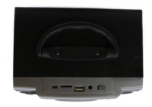 caixa de som bluetooth altomex a76 usb sd rádio fm grande