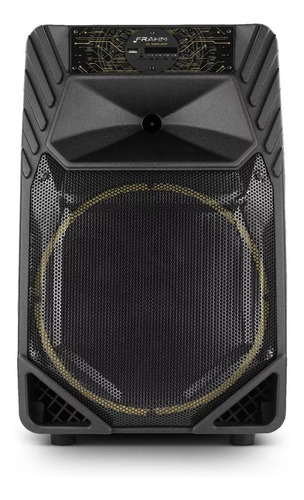 caixa de som bluetooth amplificada 500w bivolt multiuso frah