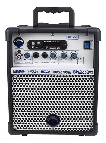 caixa de som bluetooth amplificada multiuso guitarra violao