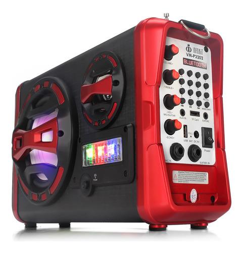 caixa de som bluetooth amplificada voxmax super bass potente